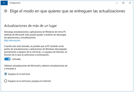 Actualizacion Windows 10 2