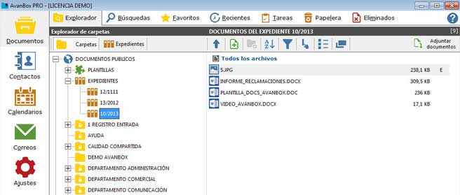 Tecmatica Avanbox Gestion Documental 2